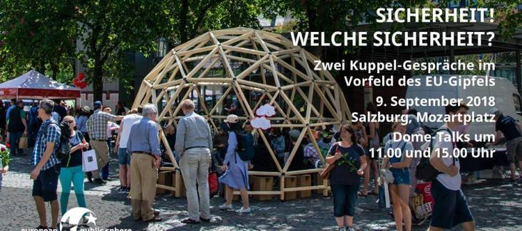 Dome-Talk European Public Sphere in Salzburg