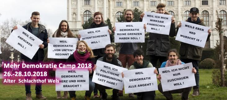 mehr demokratie! camp 2018