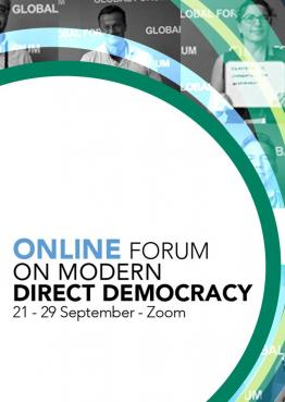 Online Forum on Modern Direct Democracy 2020