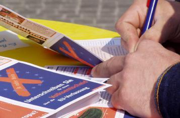 Unterschriftensammlung