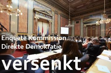 Enquete Kommission Direkte Demokratie versenkt