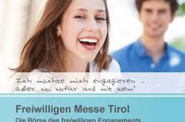 Freiwilligen Messe Tirol