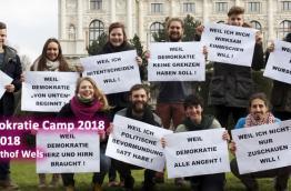 mehr demokratie! camp 2018
